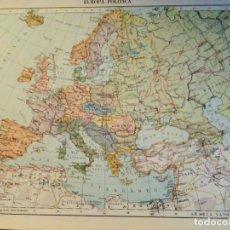 Mapas contemporâneos: LOTE 12 MAPAS POLÍTICOS Y FÍSICOS DEL MUNDO. EUROPA, ASIA, ÁFRICA, AMÉRICA Y OCEANÍA. ED. TEIDE.. Lote 164258306
