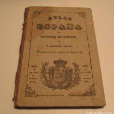 Mapas contemporáneos: ATLAS DE ESPAÑA Y SUS POSESIONES DE ULTRAMAR POR FRANCISCO COELLO - GERONA 1851. Lote 146569282