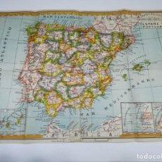 Mapas contemporáneos: MAPAS PALUZÍE. ESPAÑA Y PORTUGAL. . Lote 146998790