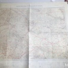 Mapas contemporáneos: MAPA MILITAR ITINERARIO DE ESPAÑA HOJA Nº 37 ZARAGOZA TERUEL. Lote 147065586