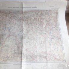 Mapas contemporáneos: MAPA MILITAR ITINERARIO DE ESPAÑA HOJA Nº 27 ZARAGOZA HUESCA . Lote 147066082