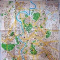 Mapas contemporáneos: PLANO-CALLEJERO DE ROMA AÑOS 70 NUOVA PLANTA DI ROMA. Lote 147240066