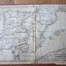 Mapas contemporáneos: 1908- MAPA PLANO ORIGINAL ESPAÑA. Lote 147525190