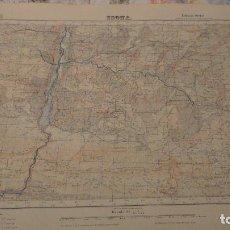 Mapas contemporáneos: ANTIGUO MAPA ISONA LERIDA.EDICION MILITAR 1950. Lote 147774066