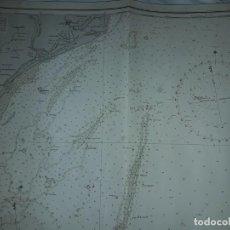 Mapas contemporáneos: PRECIOSO MAPA ORIGINAL EAST COAST ENGLAND AÑO 1950 CON SELLO DE IMPRESIÓN. Lote 148937814