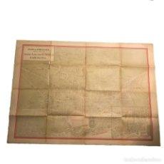 Mapas contemporáneos: PLANO DE BARCELONA ESPECIAL PARA LOS GRANDES ALMACENES EL SIGLO SA 91X65 CM. Lote 149328574