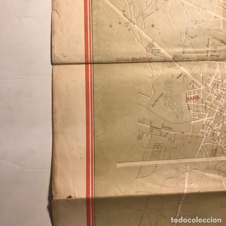 Mapas contemporáneos: Plano de Barcelona especial para los grandes almacenes El siglo SA 91x65 cm - Foto 7 - 149328574