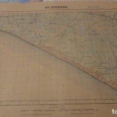 Mapas contemporáneos - ANTIGUO MAPA.EL PICACHO.CADIZ.EDICION MILITAR 1951 - 149875114