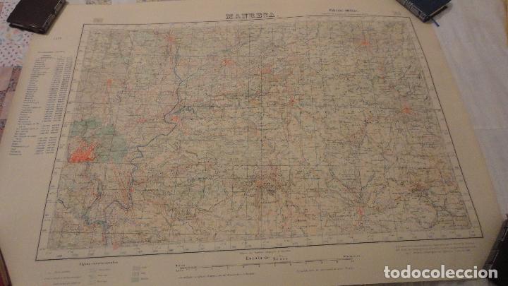 ANTIGUO MAPA.MANRESA.BARCELONA.EDICION MILITAR.1950 (Coleccionismo - Mapas - Mapas actuales (desde siglo XIX))
