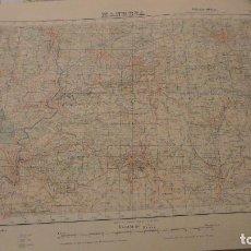 Mapas contemporáneos: ANTIGUO MAPA.MANRESA.BARCELONA.EDICION MILITAR.1950. Lote 149879374