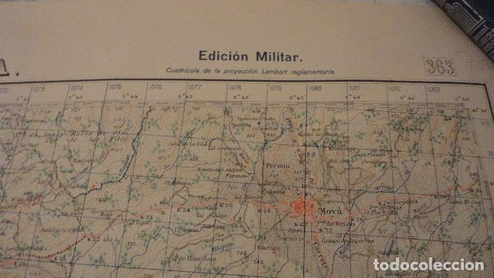 Mapas contemporáneos: ANTIGUO MAPA.MANRESA.BARCELONA.EDICION MILITAR.1950 - Foto 3 - 149879374