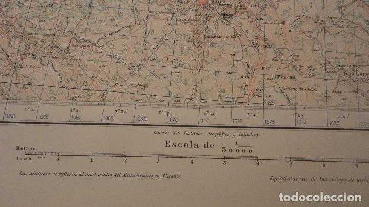 Mapas contemporáneos: ANTIGUO MAPA.MANRESA.BARCELONA.EDICION MILITAR.1950 - Foto 5 - 149879374