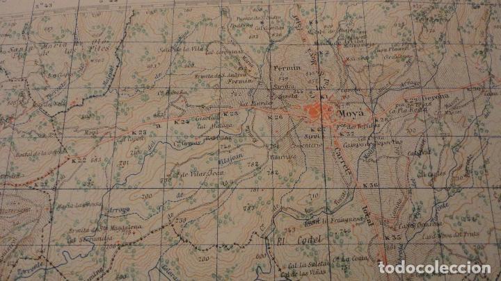 Mapas contemporáneos: ANTIGUO MAPA.MANRESA.BARCELONA.EDICION MILITAR.1950 - Foto 8 - 149879374