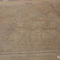 Mapas contemporáneos - ANTIGUO MAPA.CALAF.BARCELONA.EDICION MILITAR.1951 - 149879886