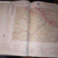 Mapas contemporáneos: CARTOGRAFIA MILITAR DE ESPAÑA. MAPA MILITAR DE ESPAÑA. BILBAO. 1980.. Lote 150304914