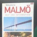 Mapas contemporáneos: MAPA DE MALMÖ - SUECIA - EN INGLES. Lote 150764522