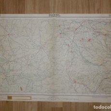 Mapas contemporáneos: MAPA - PADUL - GRANADA - INSTITUTO GEOGRÁFICO Y CATASTRAL - AÑOS 30 - 63 X 47,7 CM - 1:50000. Lote 150778306