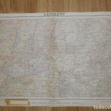 Mapas contemporáneos: MAPA LANJARÓN, GRANADA - INSTITUTO GEOGRÁFICO Y CATASTRAL - PRIMERA EDICIÓN 1936 -66 X 45 CM-1:50000. Lote 150831962