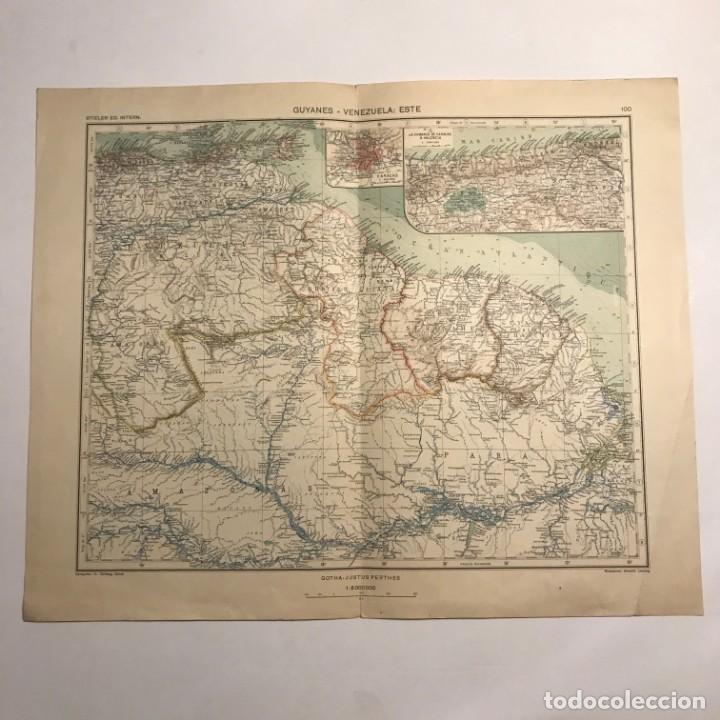 Mapas contemporáneos: Mapa de Guyanes. Venezuela 49,2x40 - Foto 3 - 151382738