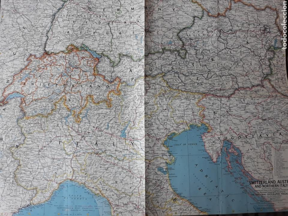 Map Of Northern Italy And Austria.Switzerland Austria And Northern Italy 1965 Buy Contemporary Maps