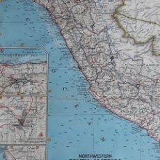 Mapas contemporáneos: NORTHWESTERN SOUTH AMÉRICA 1964. Lote 151770966