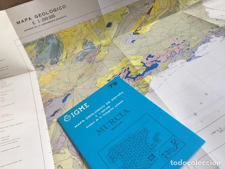 Mapas contemporáneos: IGME Mapa geológico de España E. 1:200000 Murcia 79 - Foto 5 - 151831814