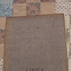 Mapas contemporáneos: ANTIGUO PLANO O MAPA.LINEA BARCELONA-CADIZ CON PARADAS.TREN.FERROCARRIL? . Lote 151889150