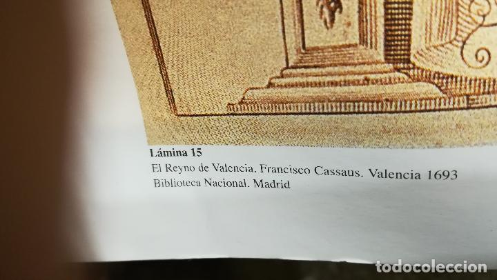 Mapas contemporáneos: Mapa litografia El Reyno de Valencia dividido en svs dos gobiernos 1693-Francisco Antonio Cassaus - Foto 6 - 152833718
