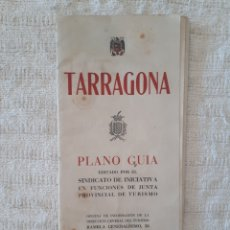 Mapas contemporáneos - Tarragona plano guía 1948 - 153081148