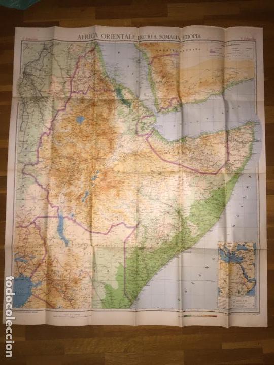 Cartina Giografica Africa.Carta Geografica De Africa Oriental Eritrea So Acquista Mappe Contemporanee A Todocoleccion 153316414