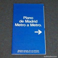 Mapas contemporáneos - Mapa / Plano METRO de Madrid - Junio 1984 - 153824390