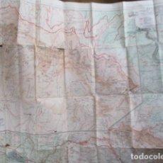 Mapas contemporáneos: MAPA DE MONTSERRAT. EDITORIAL ALPINA. Lote 154037886