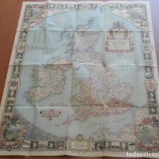 Mapas contemporáneos: MAPAS NATIONAL GEOGRAPHIC. EE.UU.-CANADÁ-AUSTRALIA-ISLAS BRITÁNICAS. GILBERT GROSVENOR. DÉCADA 1940.. Lote 154653618