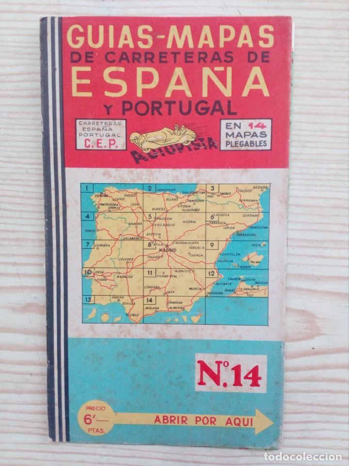España Y Portugal Mapa.Guias Mapas De Carreteras De Espana Y Portugal 14