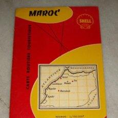 Mapas contemporáneos: GUÁ FOLDEX DE MARRUECOS. CON PLANO DESPLEGABLE.. Lote 154683166