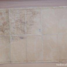 Mapas contemporáneos: ANTIGUO MAPA - BAHÍA DE ROSAS - GERONA - ESCALA Y FECHA SIN DETERMINAR - SIN DATOS - 41 X 59 CM. Lote 154821894
