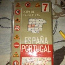 Mapas contemporáneos: MAPAS DE CARRETERAS DE ESPAÑA PORTUGAL.. Lote 154936734