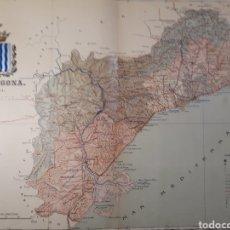 Mapas contemporáneos: TARRAGONA AÑO 1901. Lote 155030349