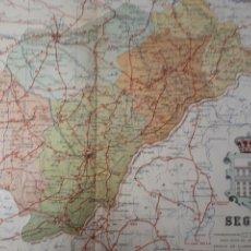 Mapas contemporáneos: SEGOVIA 1905. Lote 155031658
