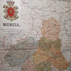 Mapas contemporáneos: MURCIA 1905. Lote 155031768