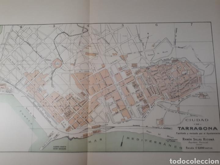 TARRAGONA 1905 (Coleccionismo - Mapas - Mapas actuales (desde siglo XIX))
