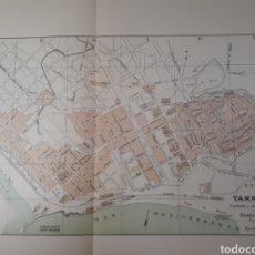 Mapas contemporáneos: TARRAGONA 1905. Lote 155032304