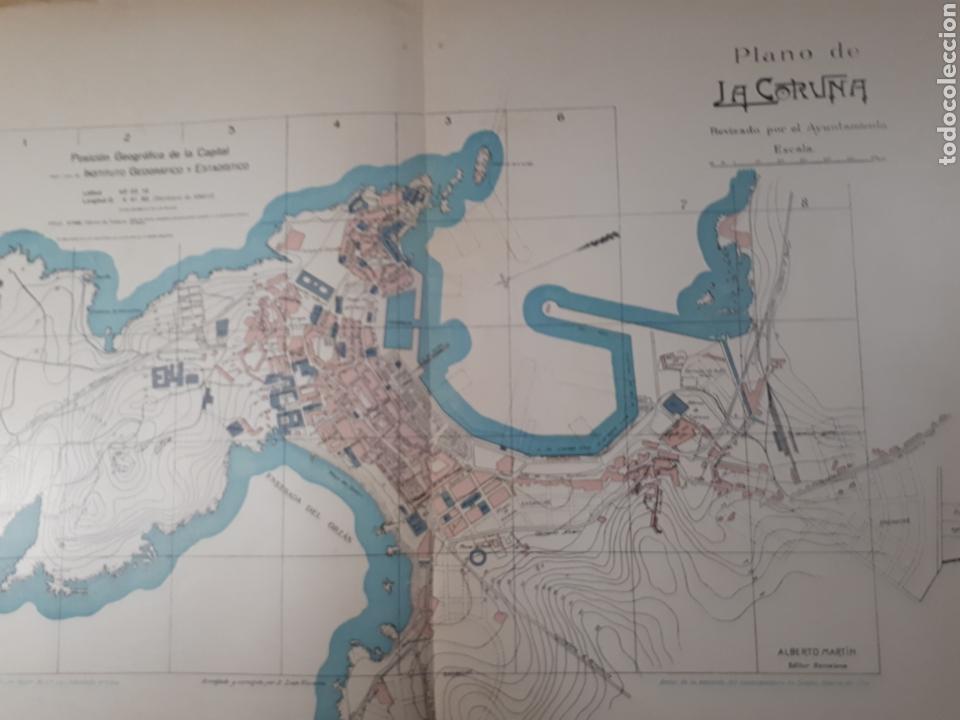 LA CORUÑA 1905 (Coleccionismo - Mapas - Mapas actuales (desde siglo XIX))