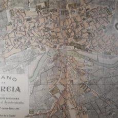 Mapas contemporáneos: MURCIA 1905. Lote 155033636