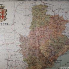 Mapas contemporáneos: BARCELONA 1905. Lote 155034128