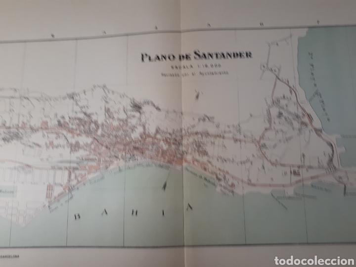 SANTANDER 1905 (Coleccionismo - Mapas - Mapas actuales (desde siglo XIX))