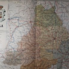 Mapas contemporáneos: AVILA 1905. Lote 155410840