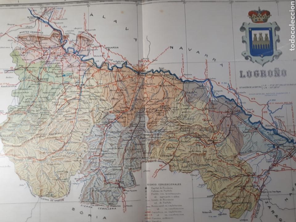 LOGROÑO 1905 (Coleccionismo - Mapas - Mapas actuales (desde siglo XIX))