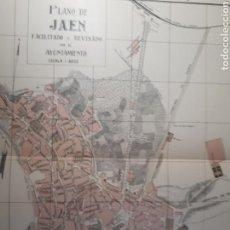 Mapas contemporáneos: JAEN 1905. Lote 155413253