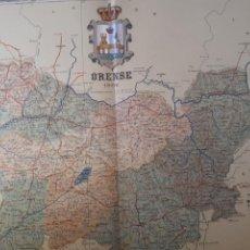 Mapas contemporáneos: ORENSE 1902. Lote 155459776
